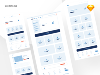 iComm - eCommerce Wireframe Kit | Day 82/365 - Project365