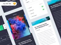 iNews - iOS UI Kit Freebie | Day 138/365 - Project365