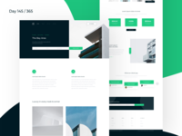 Real Estate - Landing Page Freebie | Day 145/365 - Project365