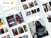 Fashion Store App Freebie | Day 152/365 - Project365
