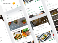Food Delivery iOS App - Freebie | Day 159/365 - Project365