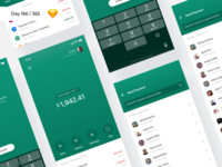 Bank Payment App - Freebie | Day 166/365 - Project365