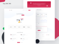 ChatBot Landing Page Freebie | Day 208/365 - Project365