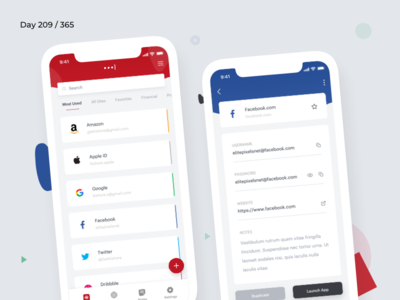 LastPass Mobile App Redesign Concept | Day 212/365 - Project365
