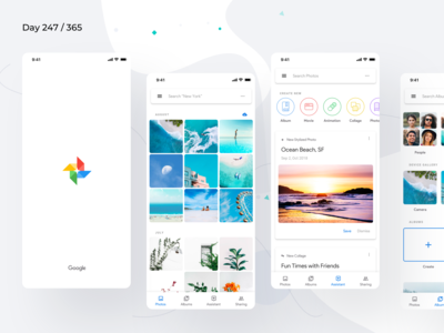 Google Photos Material 2.0 Redesign | Day 247/365 - Project365
