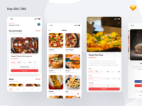 Pizza Delivery/Ordering App Freebie | Day 250/365 - Project365