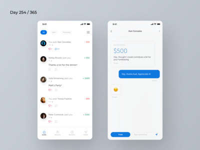 Venmo Mobile App Redesign Concept | Day 254/365 - Project365