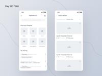 Hospital Finder App Wireframe | Day 297/365 - Project365