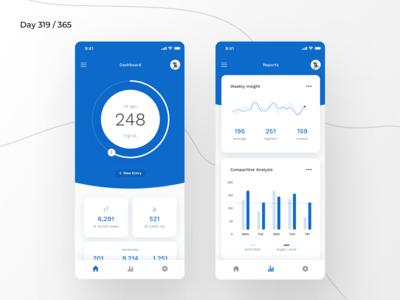 Diabetes - Sugar Tracker App   Day 319/365 - Project365