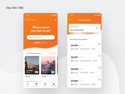 Flight Tickets Deal Tracker App | Day 340/365 - Project365