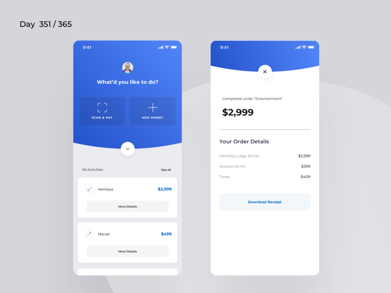 Stores POS App Concept | Day 351/365 - Project365 montserrat blue wallet buying selling retail ecommerce stores pos point of sale ios mobile-app mobile app project365 design-challenge daily-ui minimal minimal-monday
