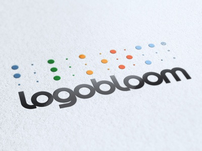 Logobloom dribbbles!