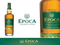 Epoca Rum Brand Logo and Label