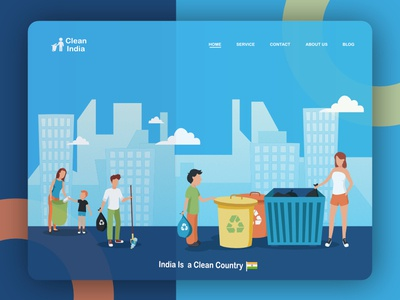 Clean India Banner