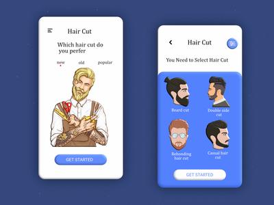 Hair cut App