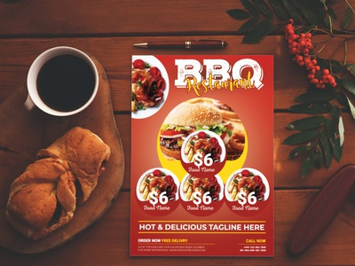 Food Flyer print template modern menu design menu food flyer template fast food flyer fast food drink dinner design creative chocolate cake cafe flyer cafe business burger flyer bakery flyer advertising