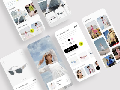 Clothing e-commerce app style trending trendy fashion brand fashion app lookbook look scan clothes shop e-shop e-commerce store fashion ios mobile ui design minimal app