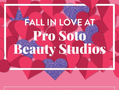 Email for Salon, Valentine's theme