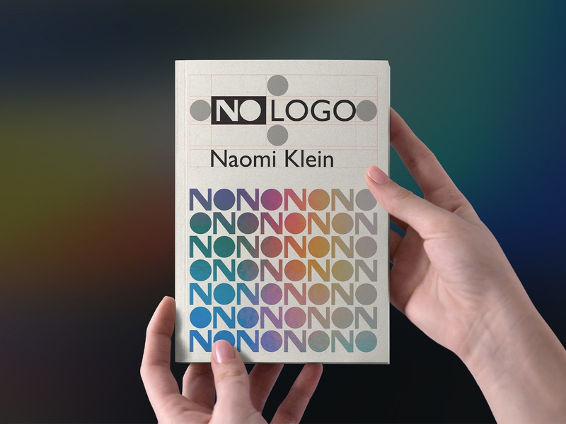 No Logo | Cover Redesign | Super Agency B.V. nologo branding book cover design agency rebound