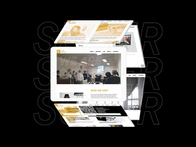 SPX Agency Website coworking housing coliving real estate agency landing page user interface responsive tablet ipad pro ipad web design website brand ui concept minimal design hello branding agency