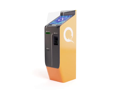 Industrial design of a multifunctional terminal 3d animation 3d bank card hardware cash machine finance device parking tickets bank motion atm terminal product design industrial design