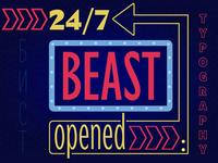 Beast typeface