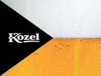 Velkopopovický Kozel beer graphics