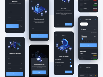 Blockchain social network App Design