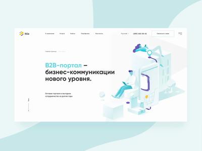 Web concept b2b