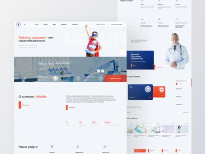 Corporate website Medlife