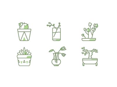 Plant icons