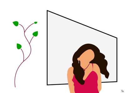 Testing Flat Illustration design illustration