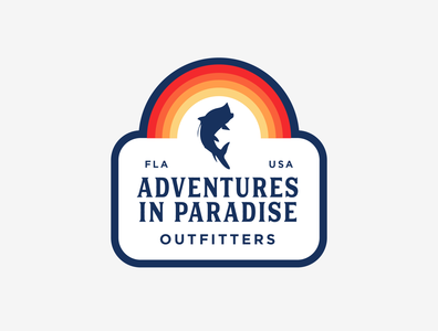 Adventures in Paradise badfish design fishing outdoors tarpon