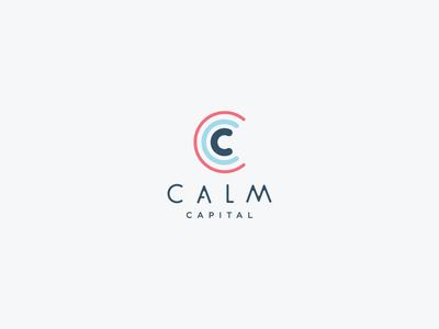 CALM Capital design logo branding