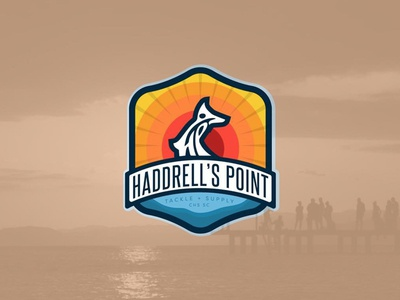 Haddrell's Point Tackle + Supply branding logo outdoors