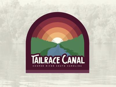 Tail Race Canal branding logo fishing outdoors