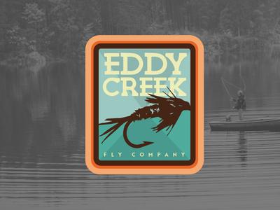 Eddy Creek Fly Co branding logo fishing fly fishing