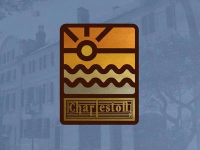 Charleston branding logo charleston