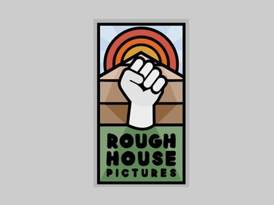 Rough House Pictures branding logo rough house pictures