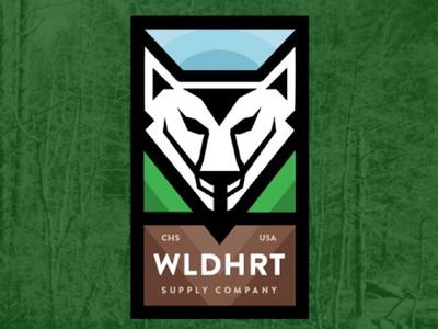 Wildheart Supply Co. outdoors branding logo