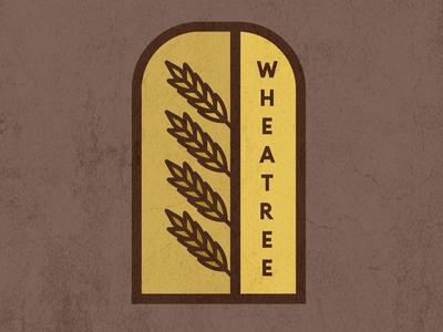 Wheatree branding logo