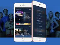 TV Guide App Navigation