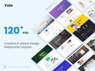 Yolo | Responsive Multi-Purpose PSD Template