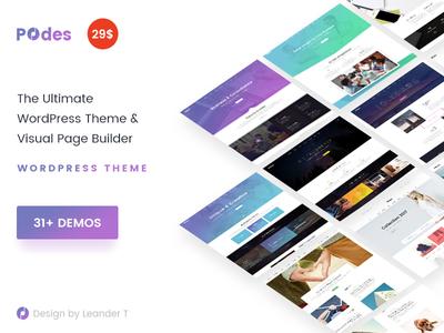 Podes | Responsive Multi-Purpose WordPress Theme