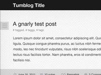 Tumblr Theme