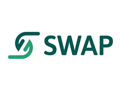 SWAP Logo Design flatdesign illustration flat vector logodesign logo idenity graphic design branding