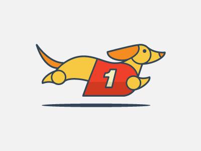 Wiener Mania 2014 dog race dog number one low rider speed wiener mania