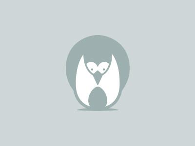 Bumkins Logo Concept logo logo mark baby penguin bird cute playful