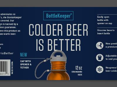 Label option 1 beer bottle label