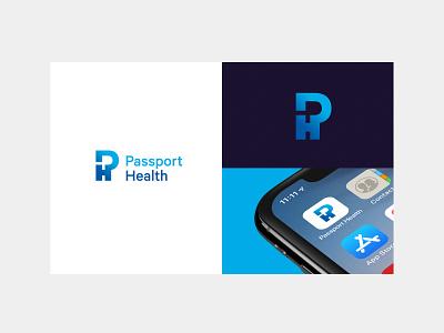 Logo Presentation travel mockup health care ph logo p logo logo